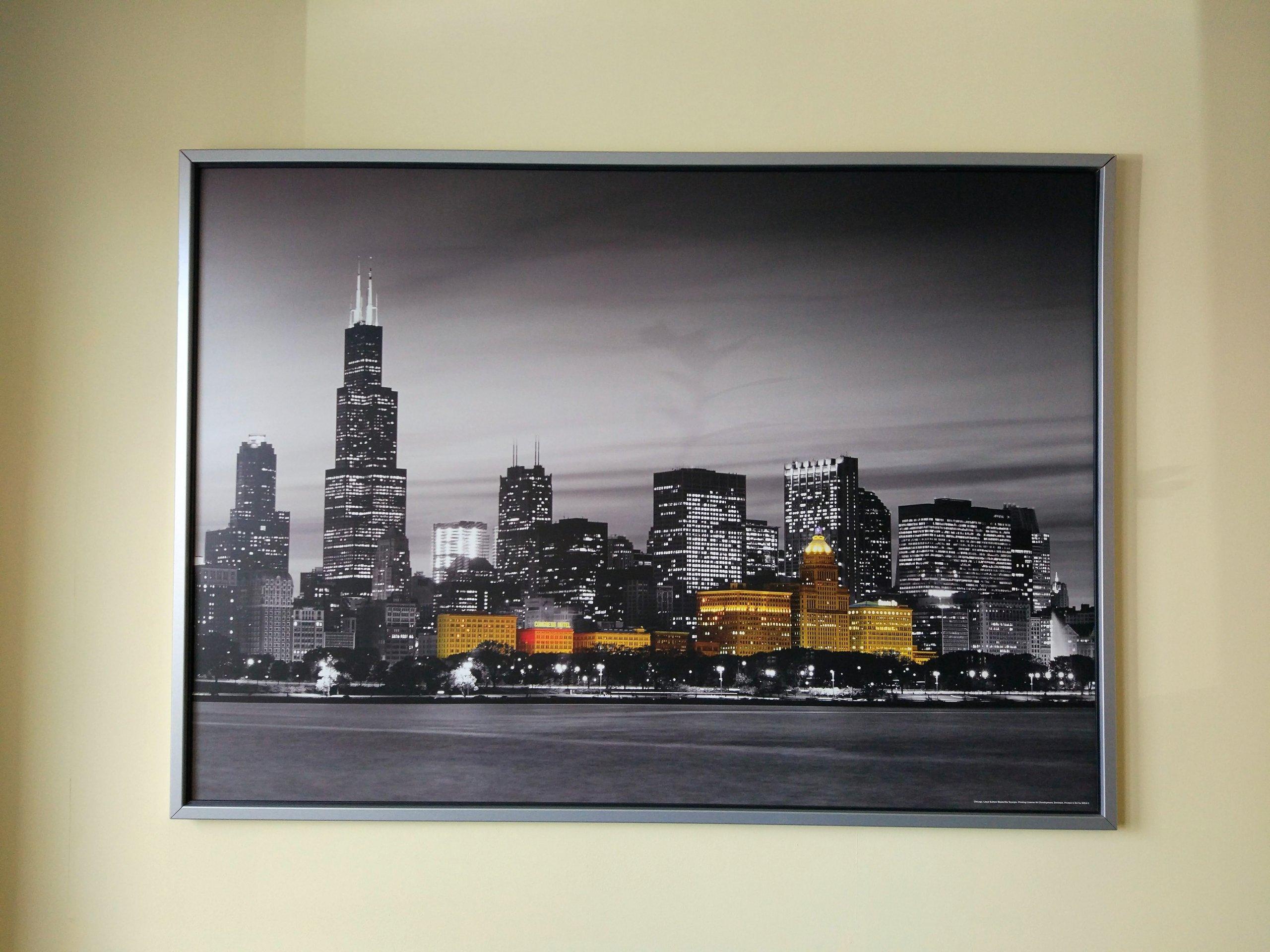 Obraz Ikea Chicago Stan Bdb Odbiór Kraków 7231067696