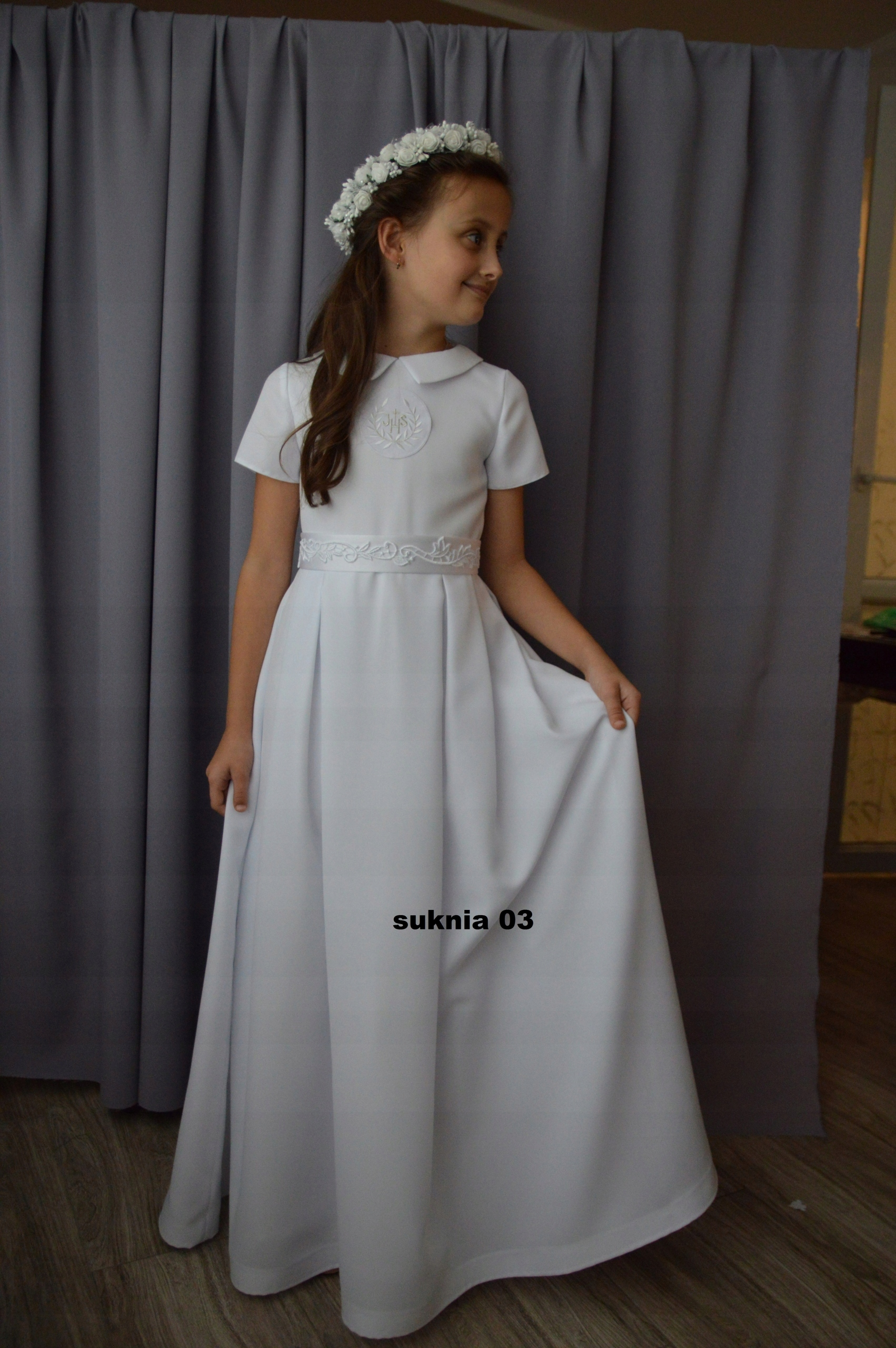 55a263aed0 alba sukienka komunijna sukienki komunijne - 7538330290 - oficjalne ...