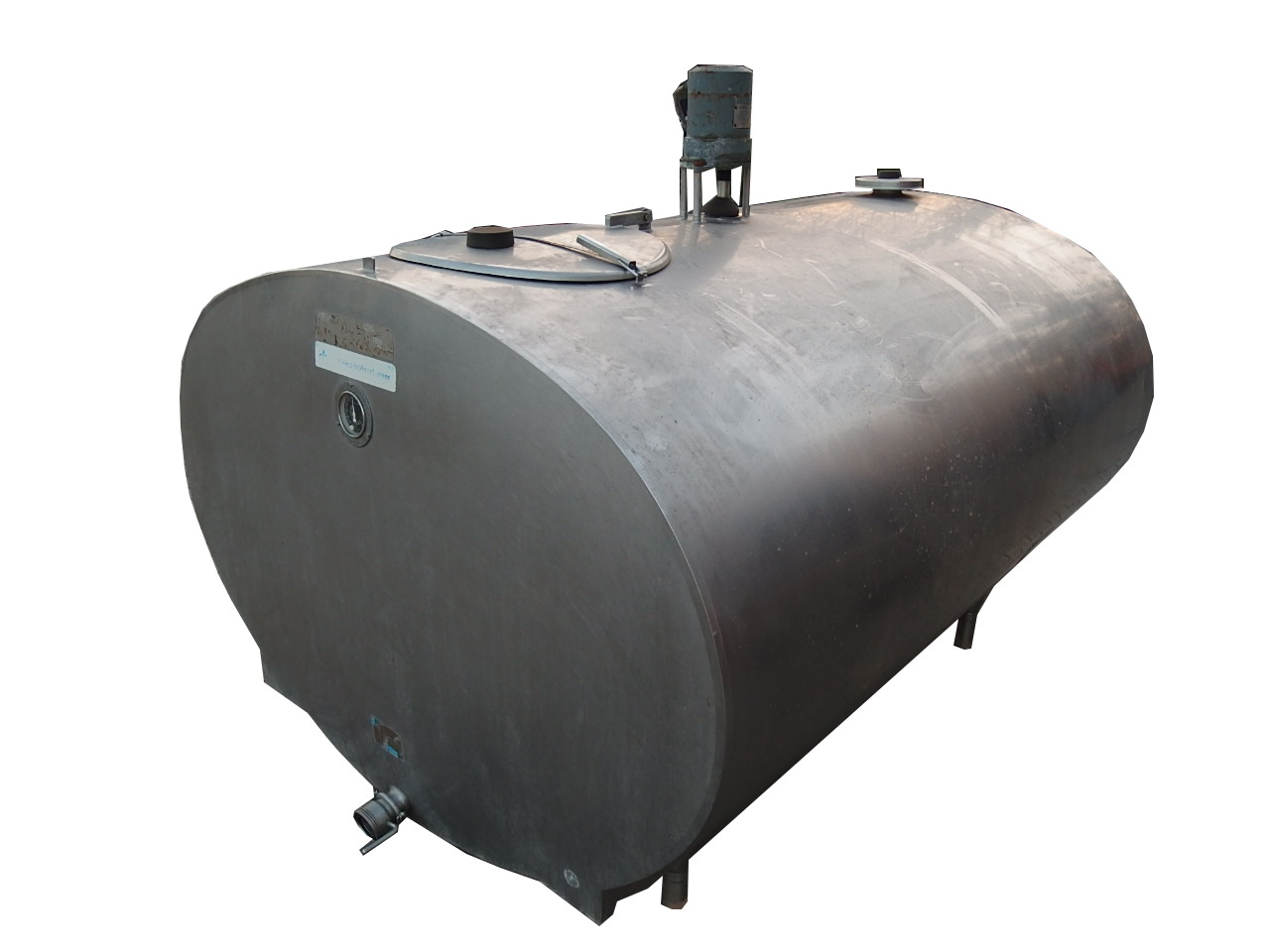 Schładzalnik cysterna zbiornik mleka MUELLER 2100L