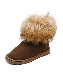 84f834a5b7b54 Kozaki EMU UGG z futrem lisem śniegowce eskimoski - 6844474765 ...