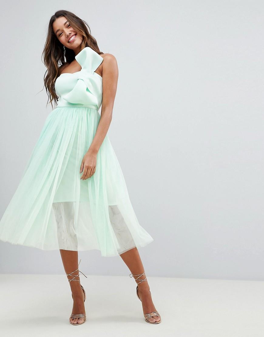 0298d8a8b6 Sukienka TIUL MIĘTOWA KOKARDA XXL 44 - 7251214118 - oficjalne ...