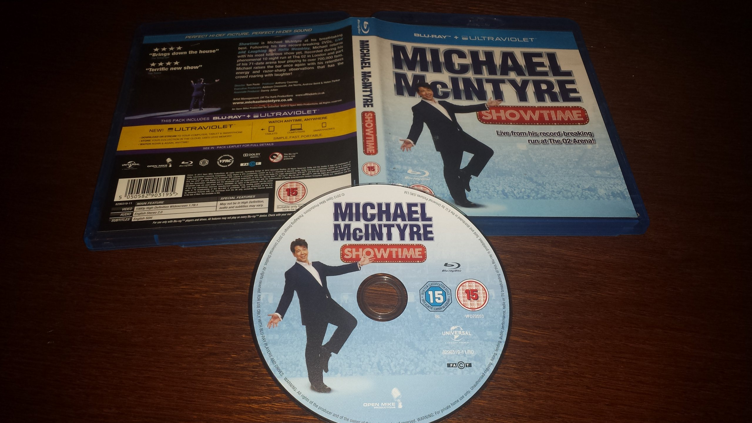 MICHAEL MCINTYRE-SHOWTIME!!! ŁÓDŹ BCM