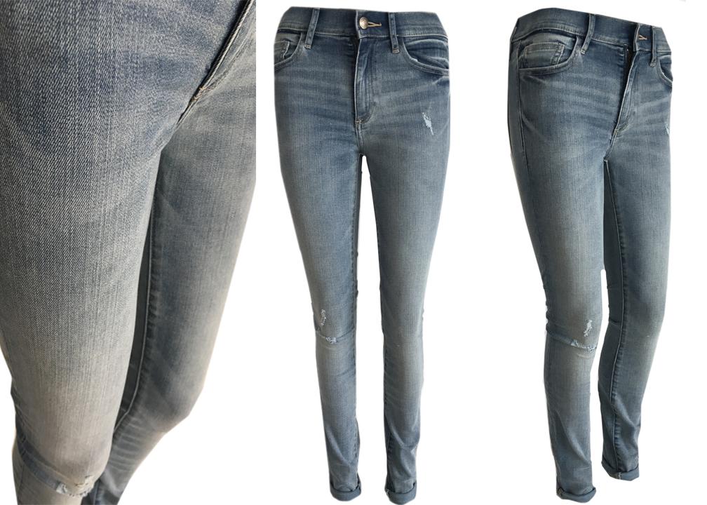 b11112cb040c GAP SKINNY FIT spodnie wysoki stan rozmiar S - 7275334639 ...
