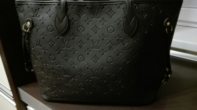 29420e07f6175 Louis Vuitton shopper bag monogram Czarna nowa - 7252865819 ...