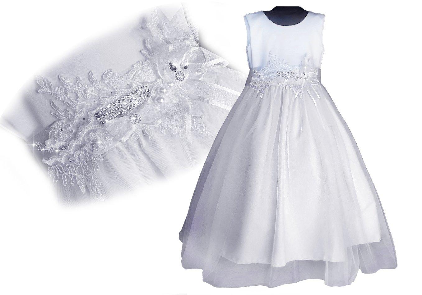 d08b596ad8 PL Olśniewająca sukienka PRZEBRANIE KOMUNIA 62 68 - 7117149768 ...