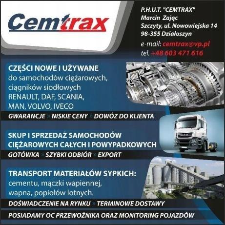 Aktualne CZĘŚCI UŻYWANE Daf,Man,Scania,Volvo,Renault - 7497891788 NJ26