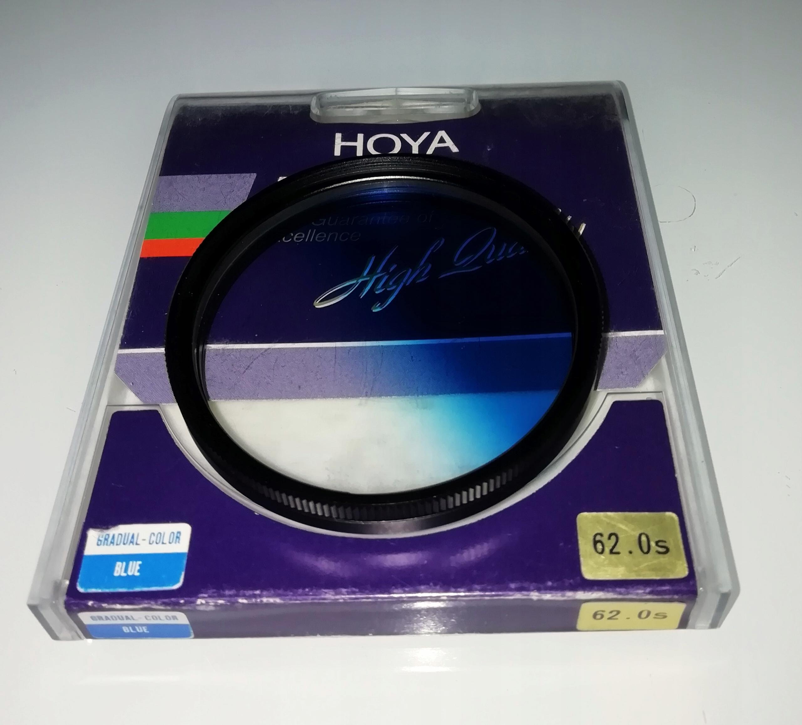 Hoya GRADUAL COLOR niebieski 62 mm + GRATIS !!