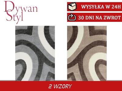 Dywan Shaggy Lessi Zwariowana Elipsa 80x150 7097902758