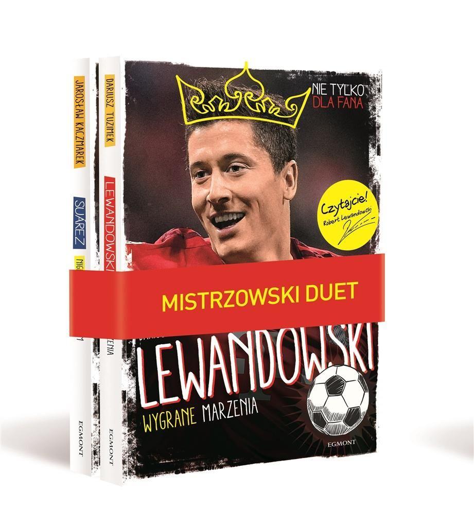 62db3b741 Robert Lewandowski Suarez książka o piłce nożnej - 7058349728 ...