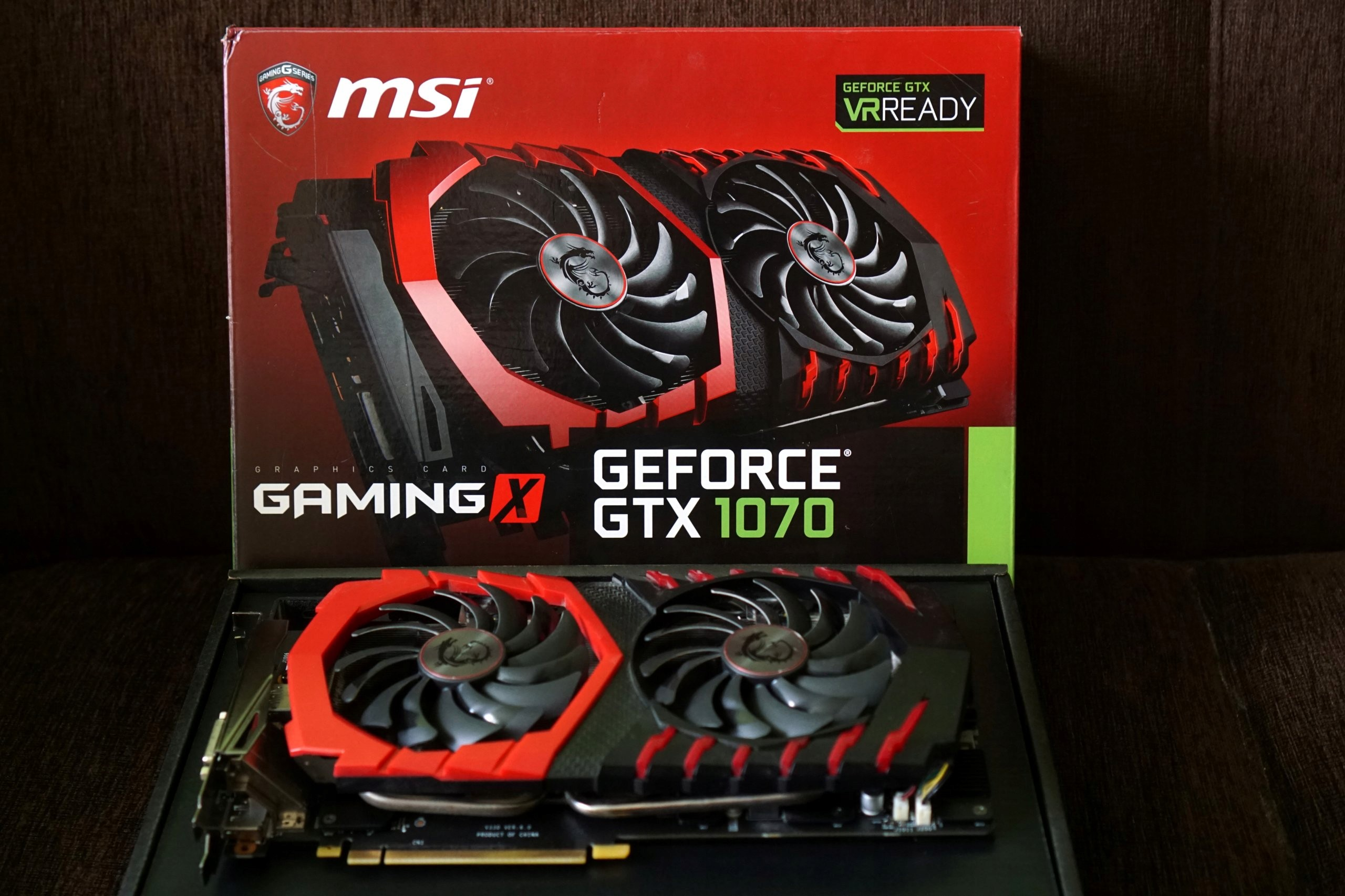 GeForce GTX 1070 MSI Gaming X 8GB BCM od 1zł