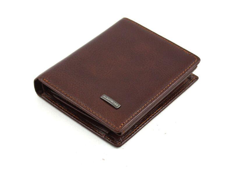 04ddda03534b6 Bardzo mały j.brązowy portfel Albatross, portfele - 7371709602 ...