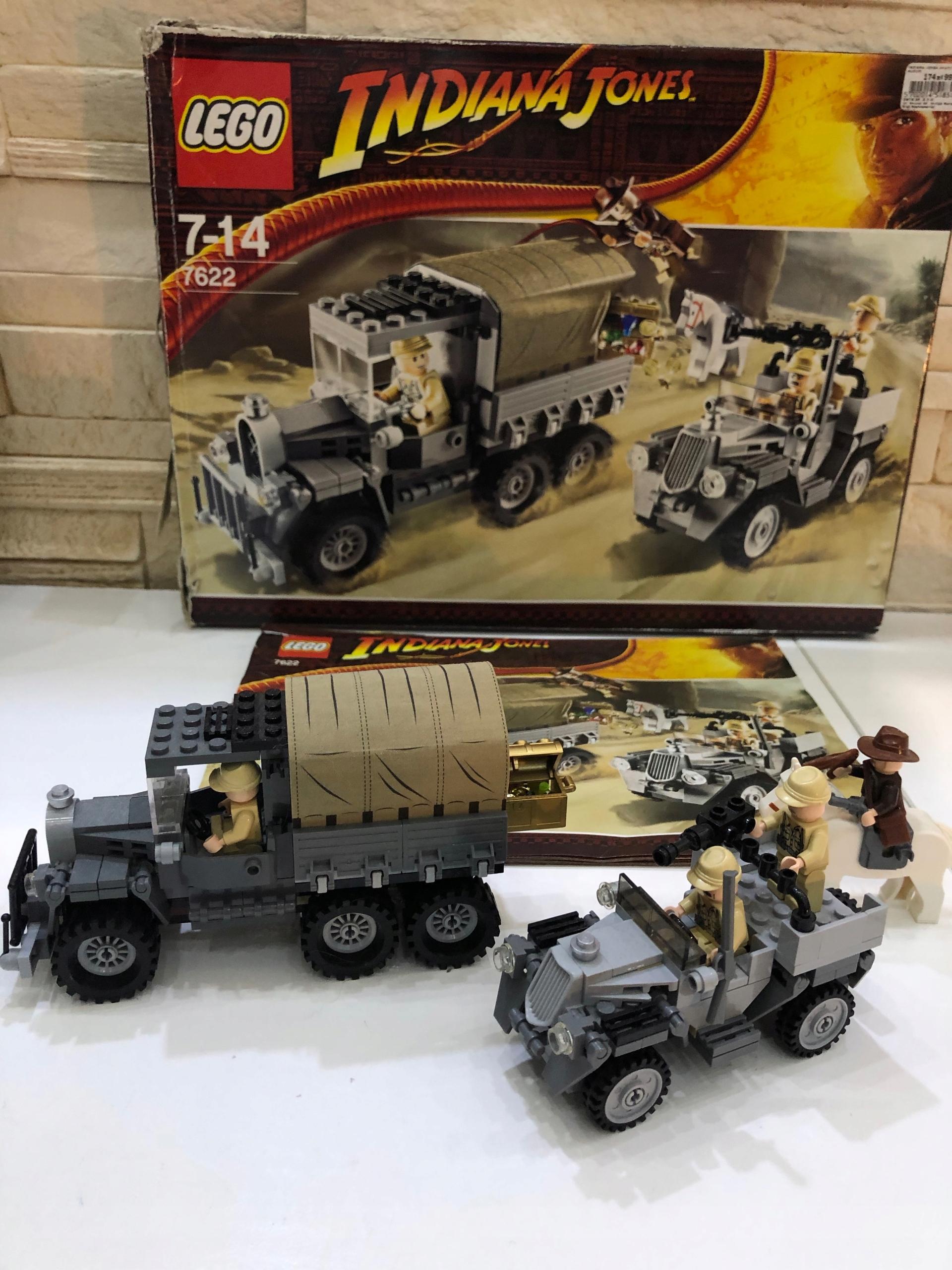 Lego Indiana Jones 7622 Wyścig Po Skradziony Skarb 7749259575