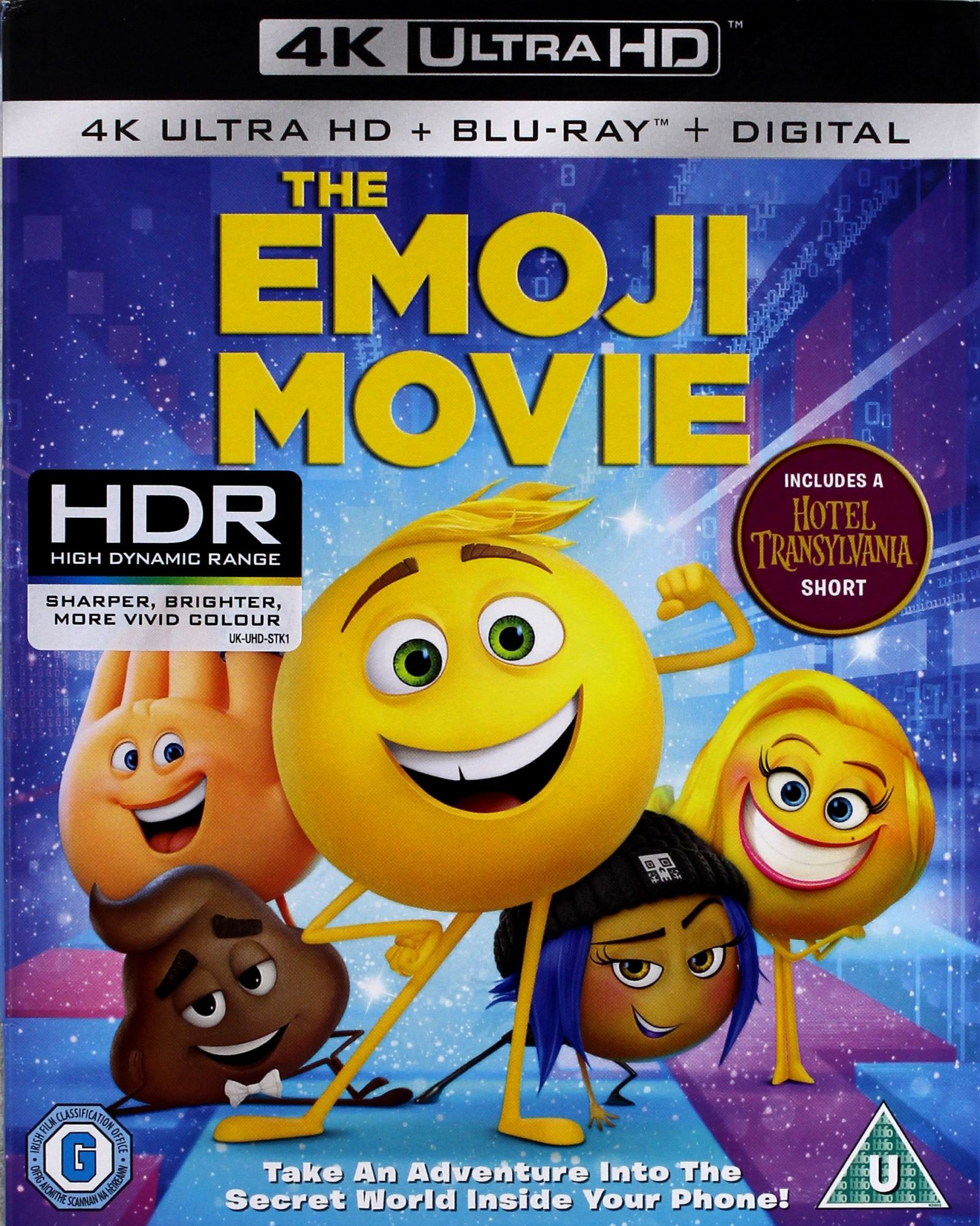 EMOTKI. FILM [BLU-RAY 4K]+[BLU-RAY]