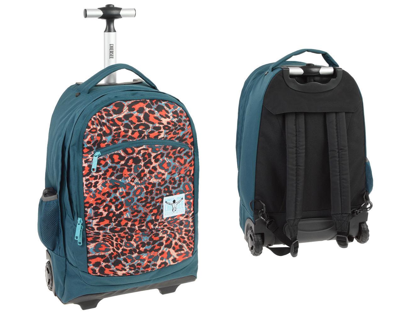 ae1a055ab83ed Chiemsee plecak szkolny na kółkach hama - 7383557498 - oficjalne ...