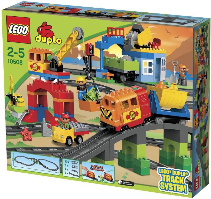 Klocki Lego Duplo Pociąg Towarowy Deluxe 10508 7112729099