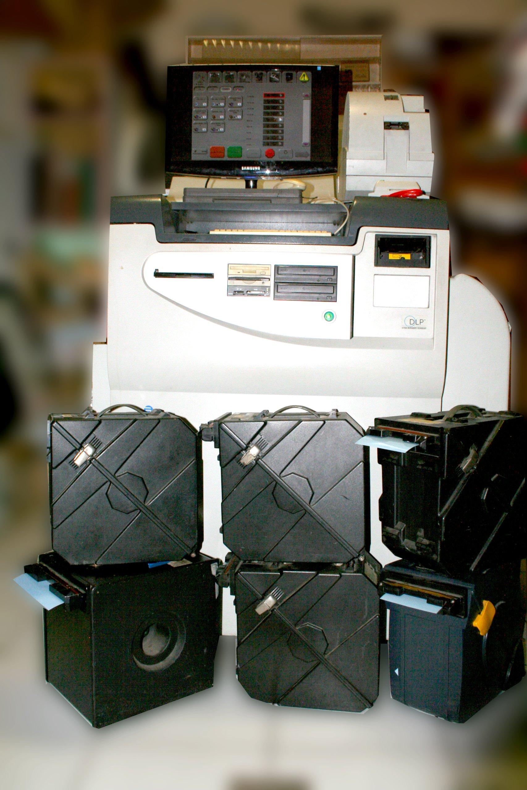 Mini Lab Gretag Master Flex D1008