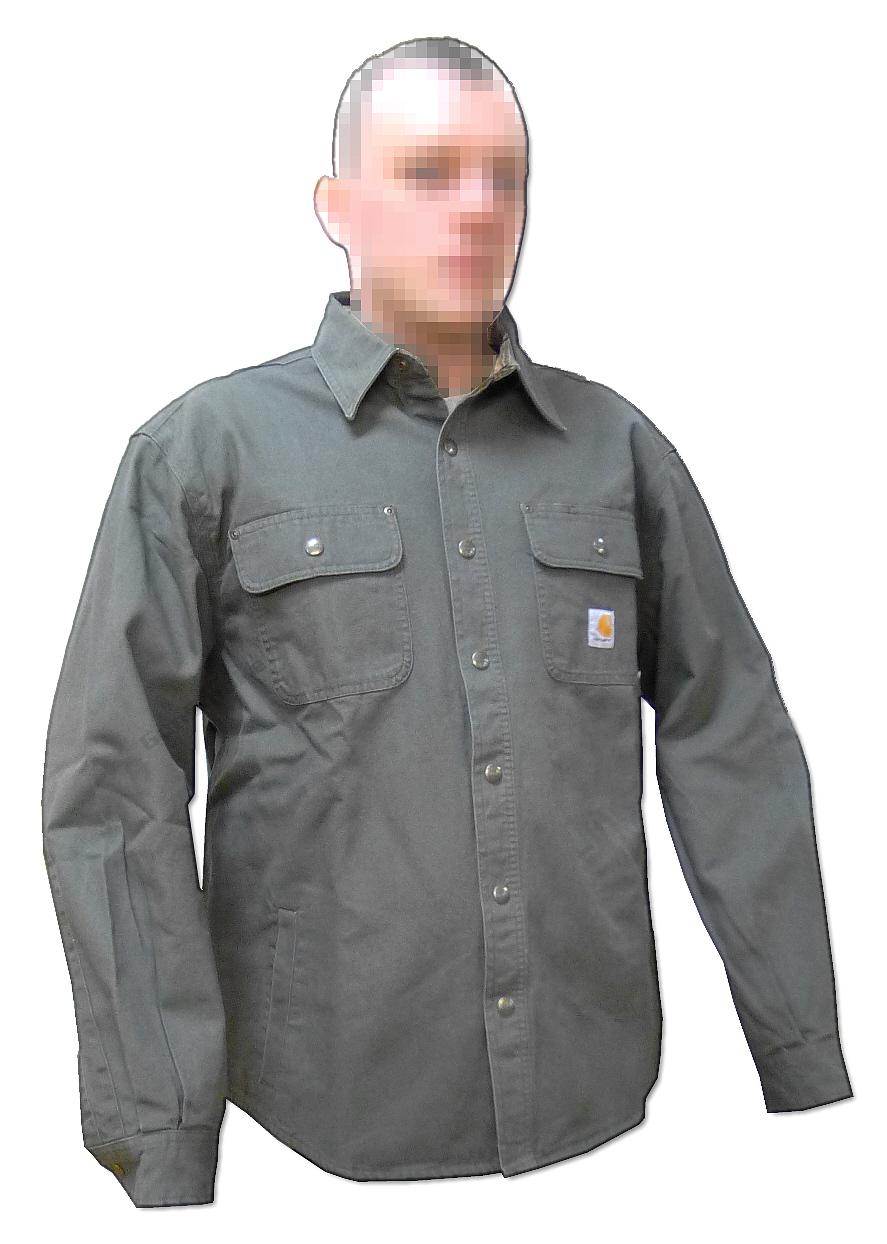 Koszula taktyczna HEAVY DUTY Canvas US OD LARGE