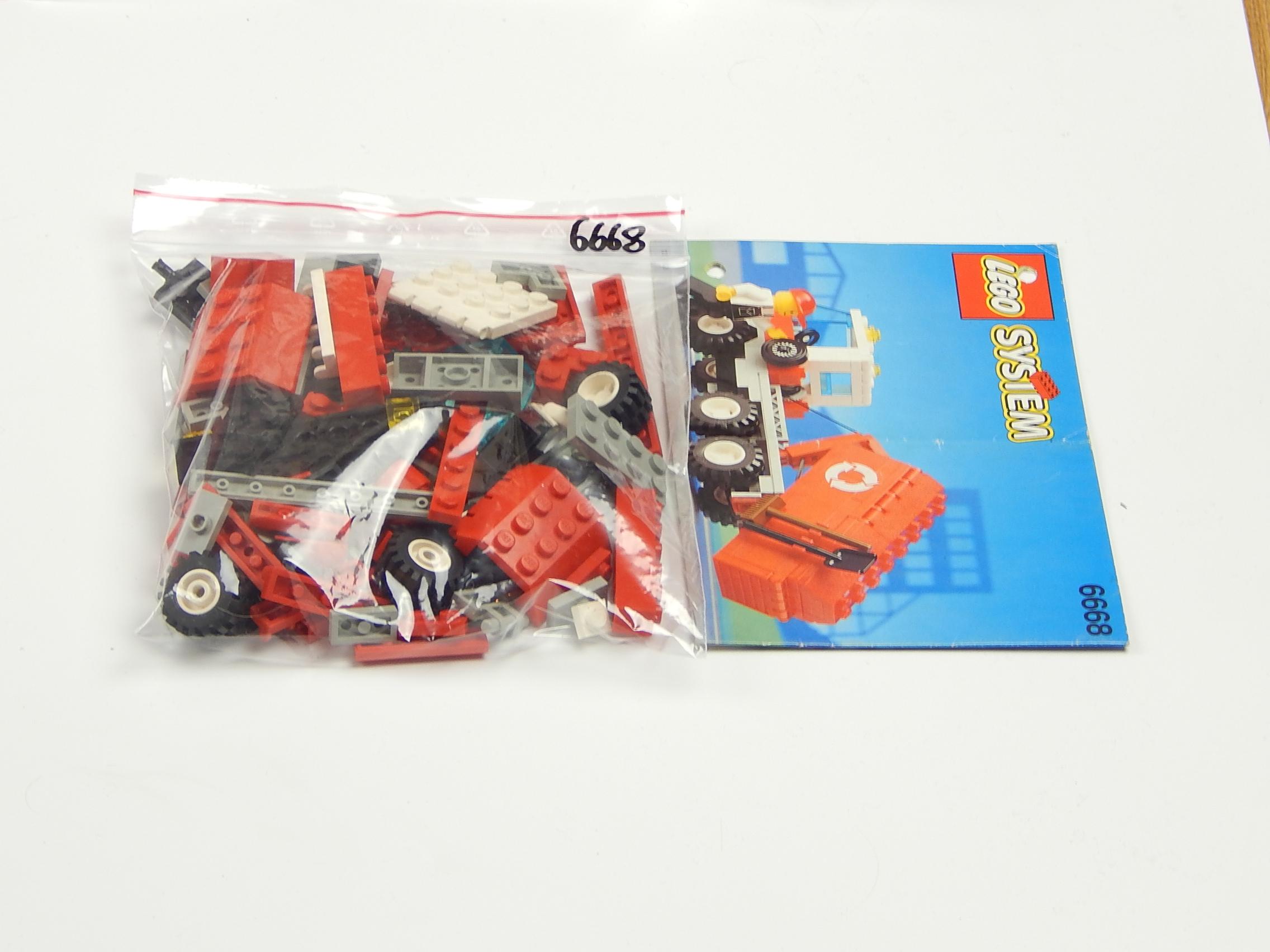 Lego Set 6668 śmieciarka System Z Instrukcja 7362323842