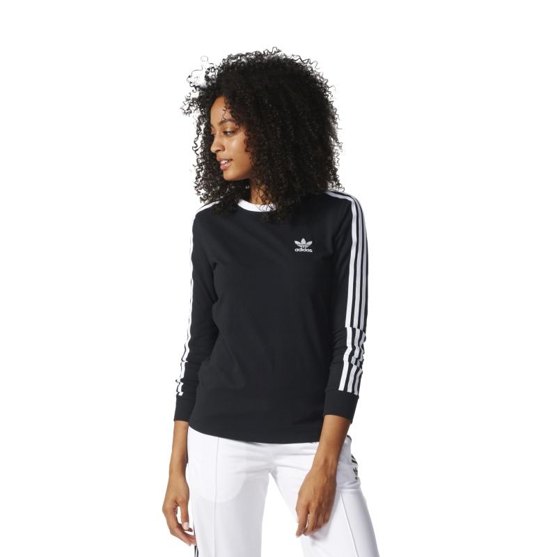 bluza adidas 3 stripes tee