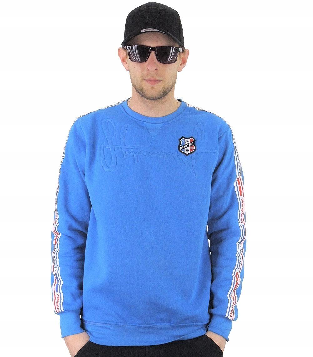 Bluza STOPROCENT grade - niebieska, rozmiar:XL (12