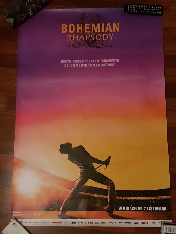 Bohemian Rhapsody Plakat Kinowy Queen Film 7626297757