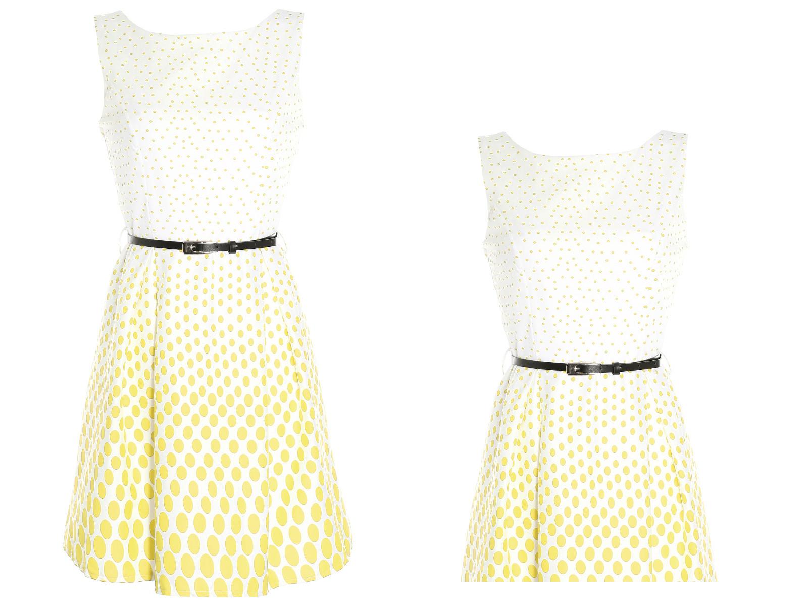 89c178caee OUTLET Sukienka letnia rozkloszowana lato A169 36 - 6833222166 ...