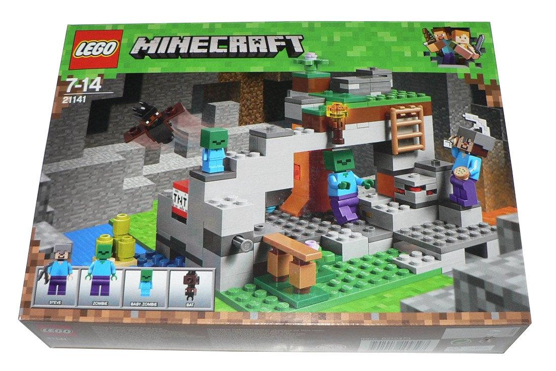 3cef19058 LEGO 21141 - MINECRAFT - Jaskinia Zombie - NOWE ! - 7706464384 ...