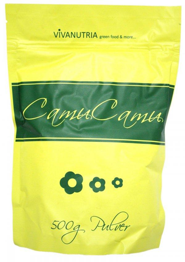 VIVANUTRIA CAMU-CAMU 500 G BOGACTWO WITAMINY C