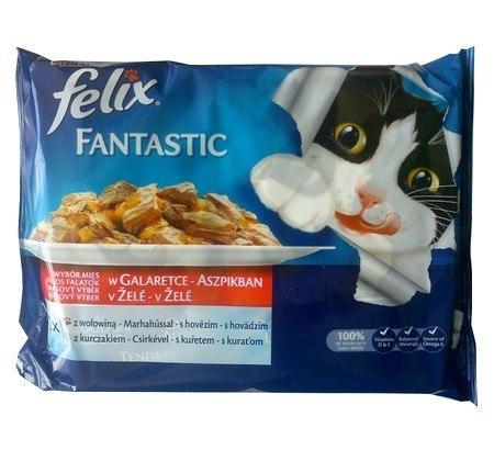 Felix Fantastic Wybór Mięs (wołowina+kurczak) w ga