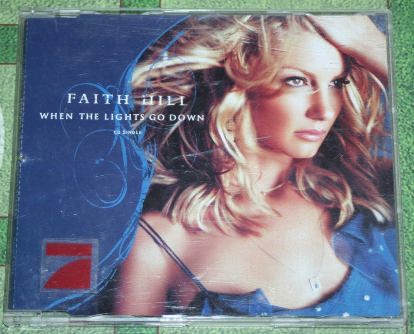 Faith Hill When The Light Go Down Maxi Cd 2003