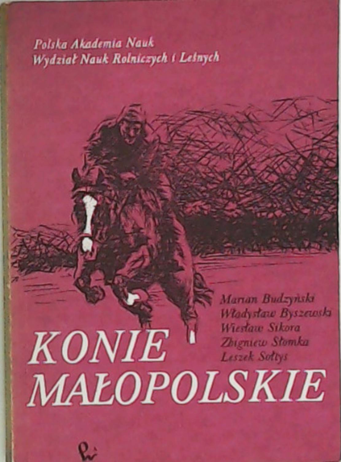 Konie Małopolskie Budzyński Wawa 7346645430 Oficjalne