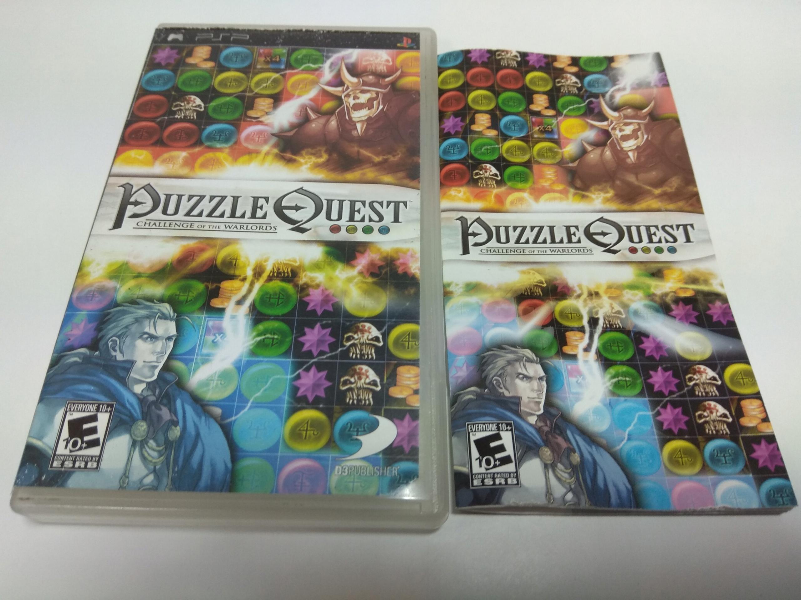 Puzzle Quest - psp ! premierowe! RAR