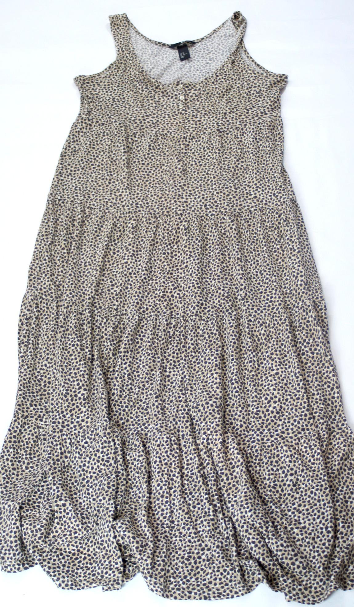 6350feff2c H M sukienka panterka długa wygodna r 38 - 7050026286 - oficjalne ...