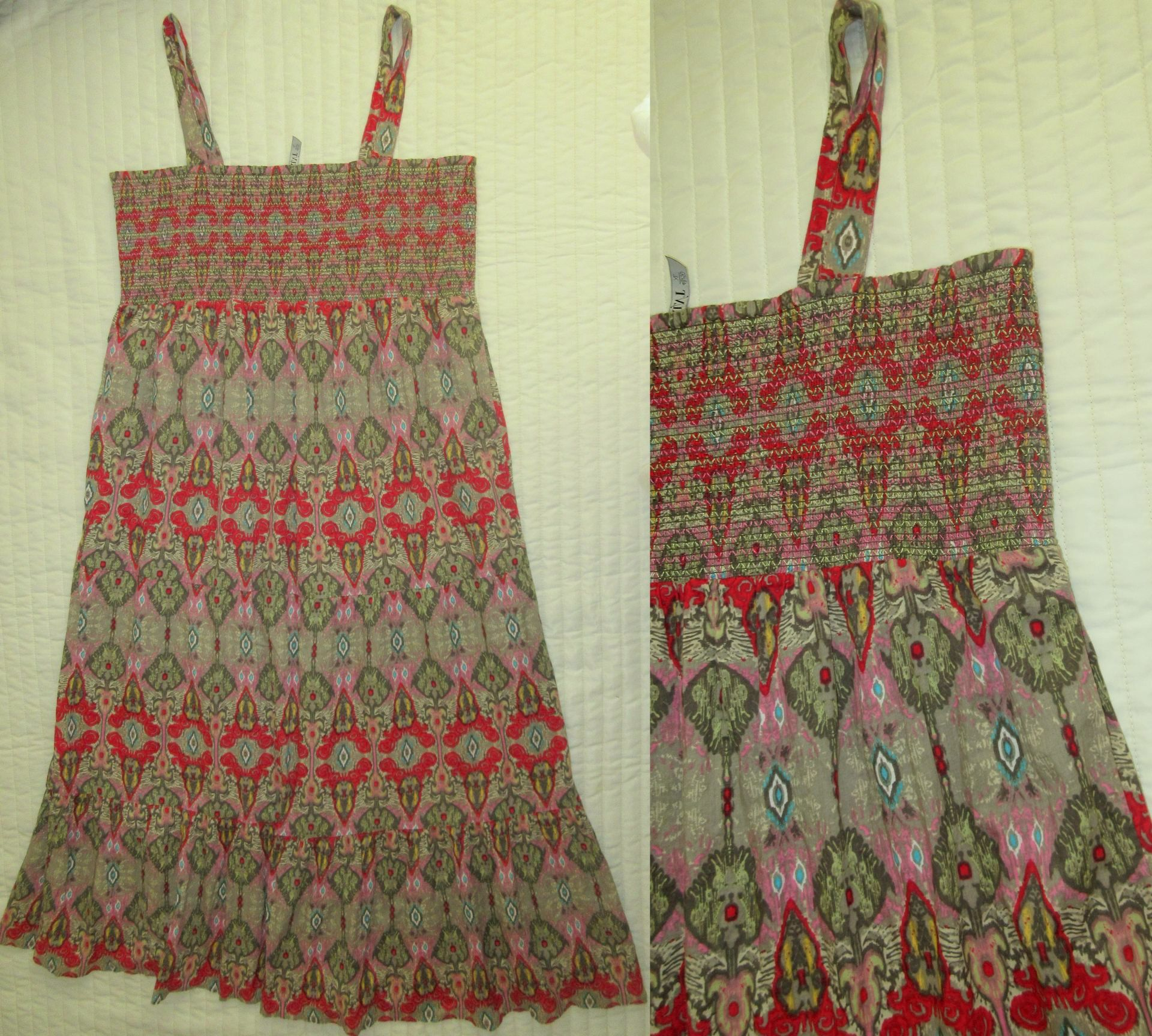 90c7a6afc6 Piękna sukienka Kappahl 48 50 maxi boho etno lato - 7374472715 ...