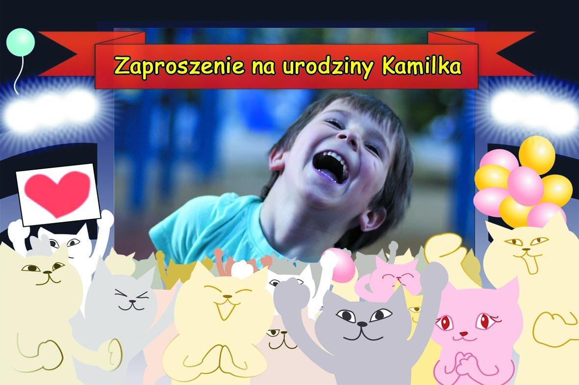 Zaproszenie Na Urodziny Dziecka Ze Zdjęciem 1 6797010516