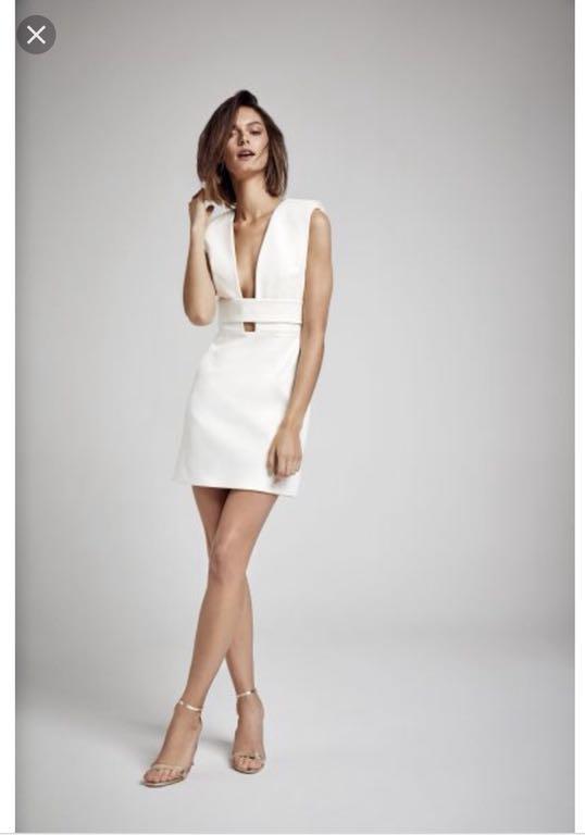 147bb30e6b LaMania sukienka Tonesi biała 36 - 7168059772 - oficjalne archiwum ...