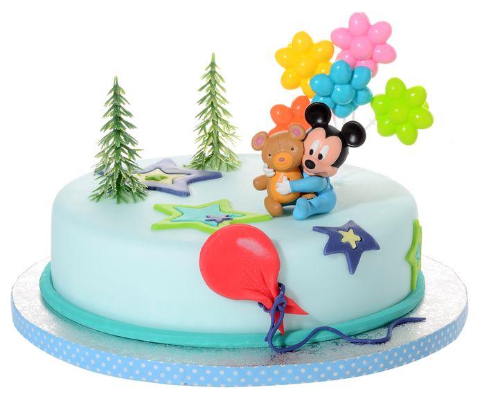 Dekoracja Na Tort Urodziny Myszka Baby Mickey 4el 7389584582