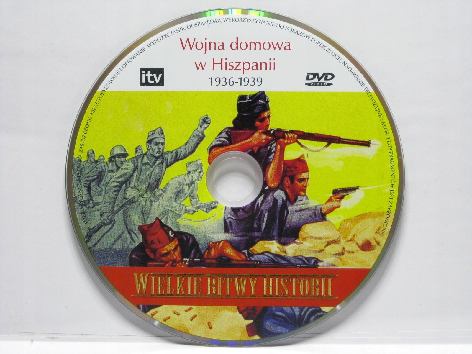 Wielkie bitwy historii - Wojna domowa w Hiszpanii