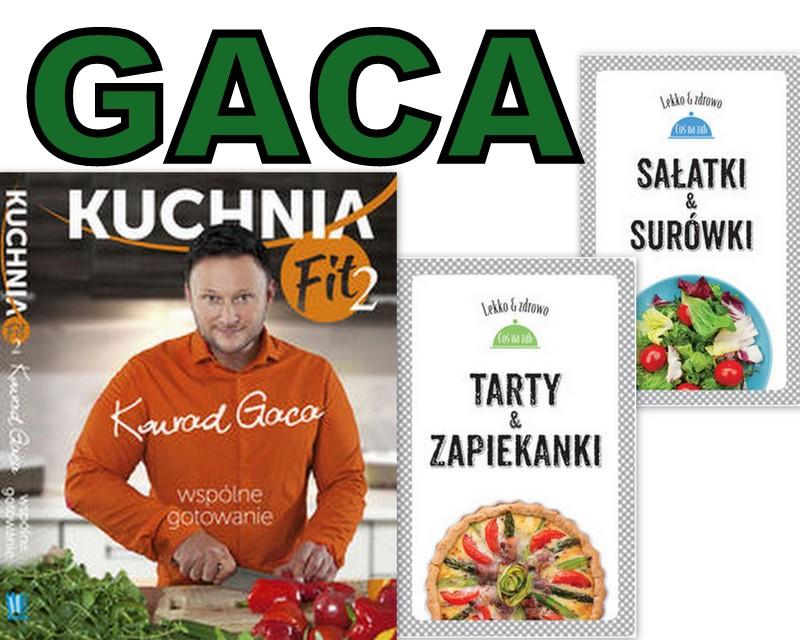 Kuchnia Fit 2 Konrad Gaca Sałatki Tarty Zapiekanki