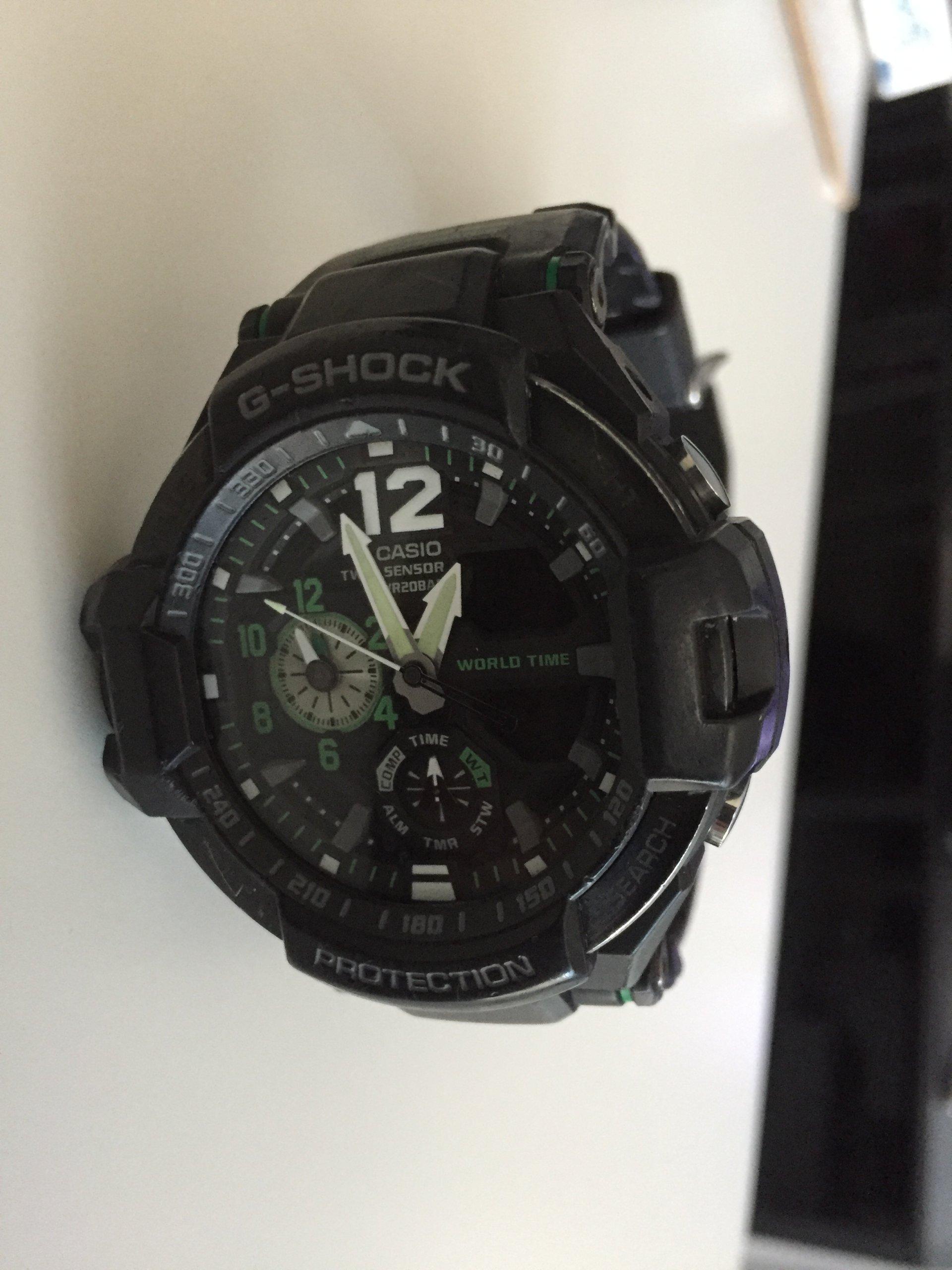 Casio G Shock Ga 1100 1a3er 7204181227 Oficjalne Archiwum Allegro 1a3