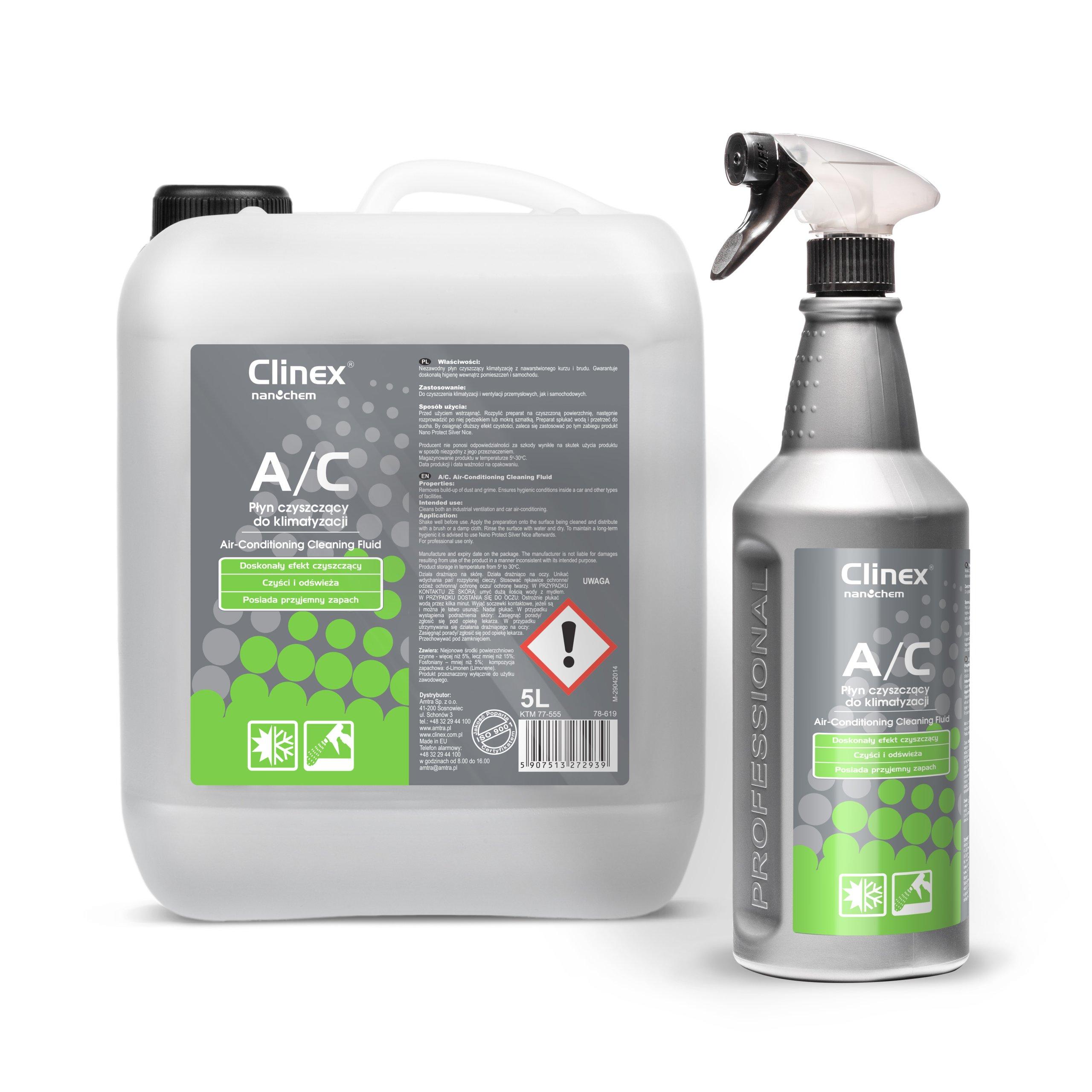 Płyn czyszczący do klimatyzacji Clinex A/C 1L