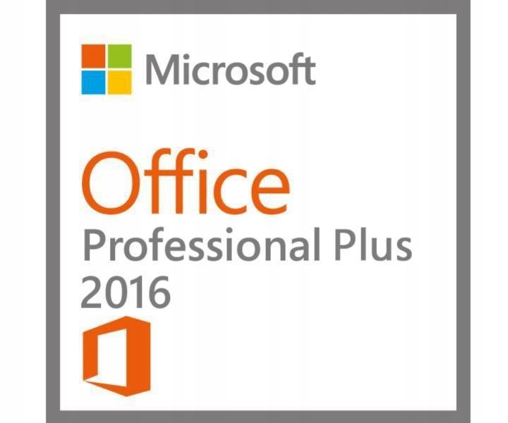 Office 2016 Professional Klucz - Polska wersja