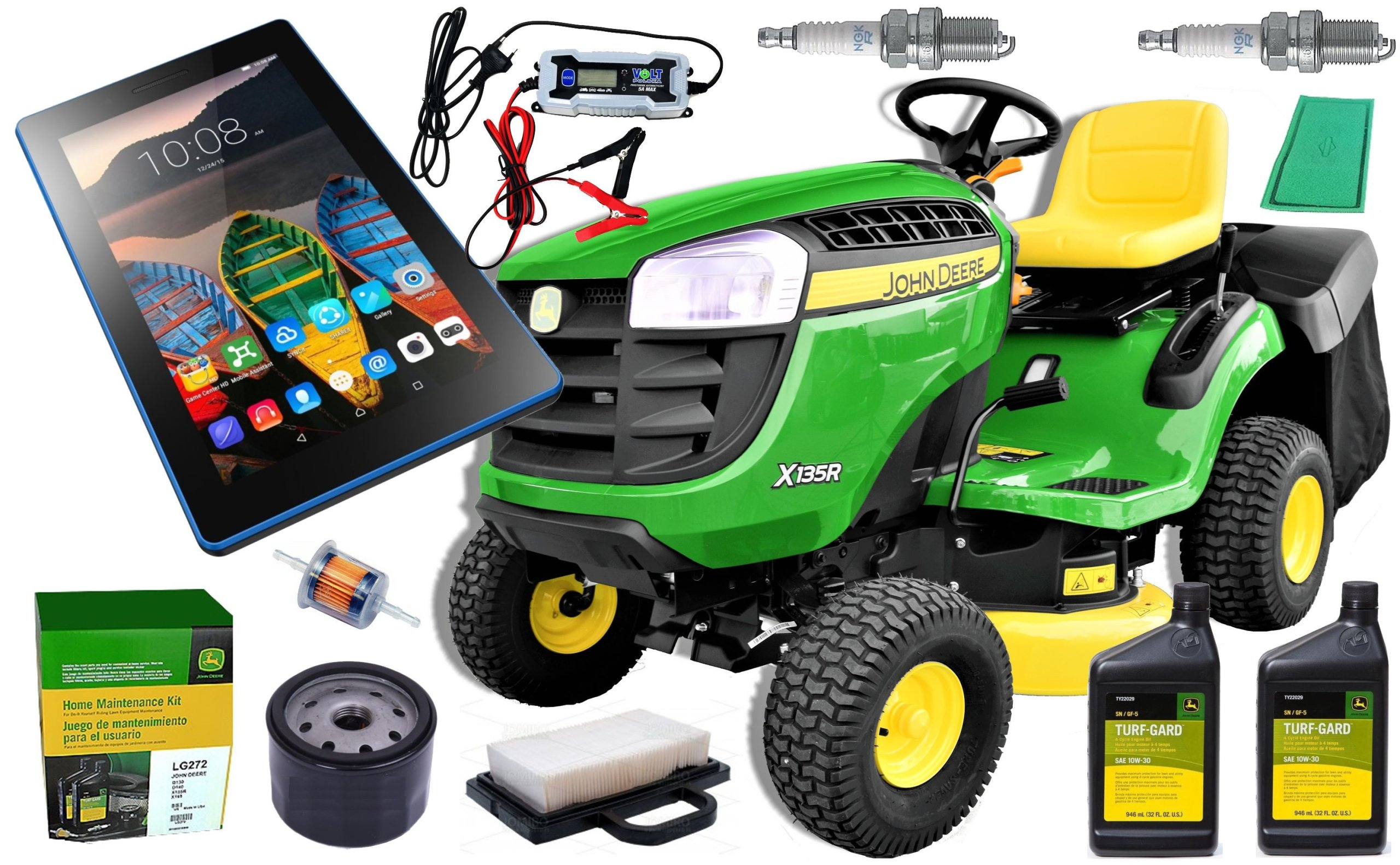 d224d04e4 Traktorek John Deere X135R PRZECENA -2274 PLN XXL+ - 7222287341 ...