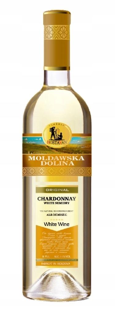 Moldawska Dolina Chardonnay Semi Dry !