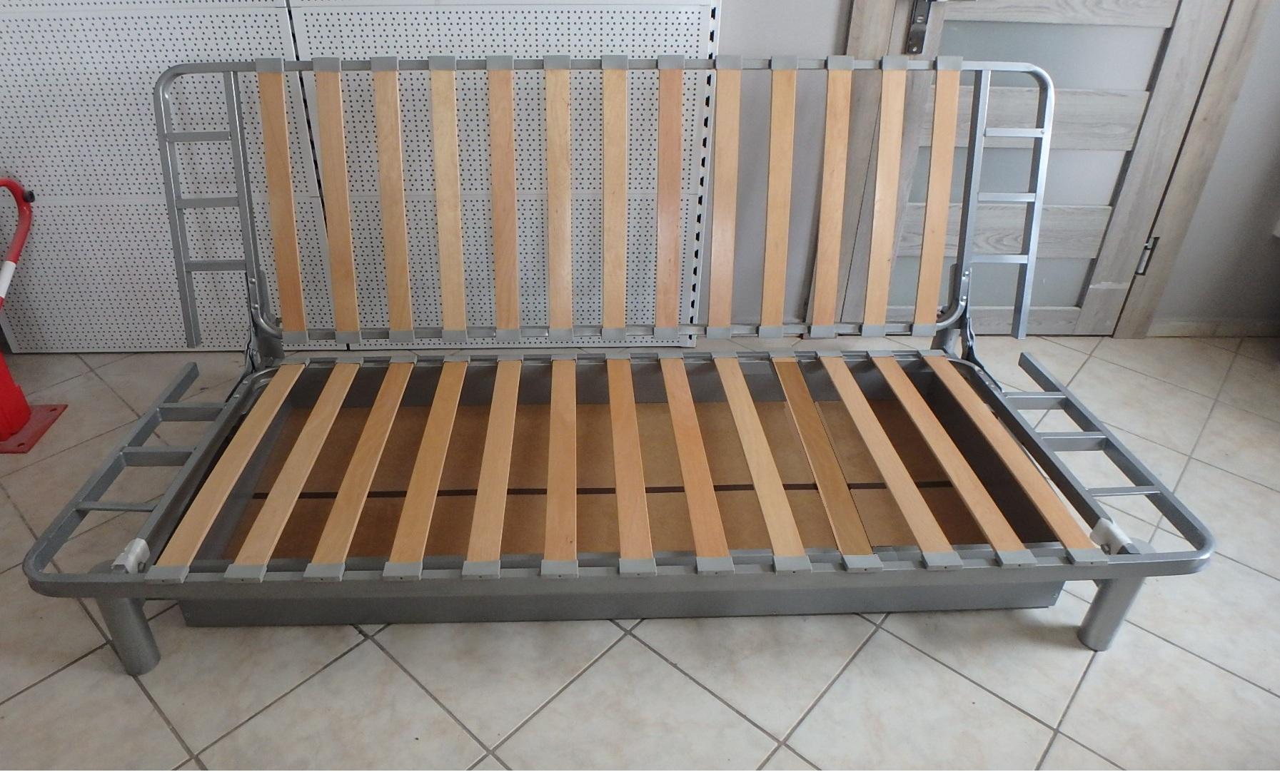 Stelaż łóżka Rama Beddinge Ikea 140x200 Pojemnik