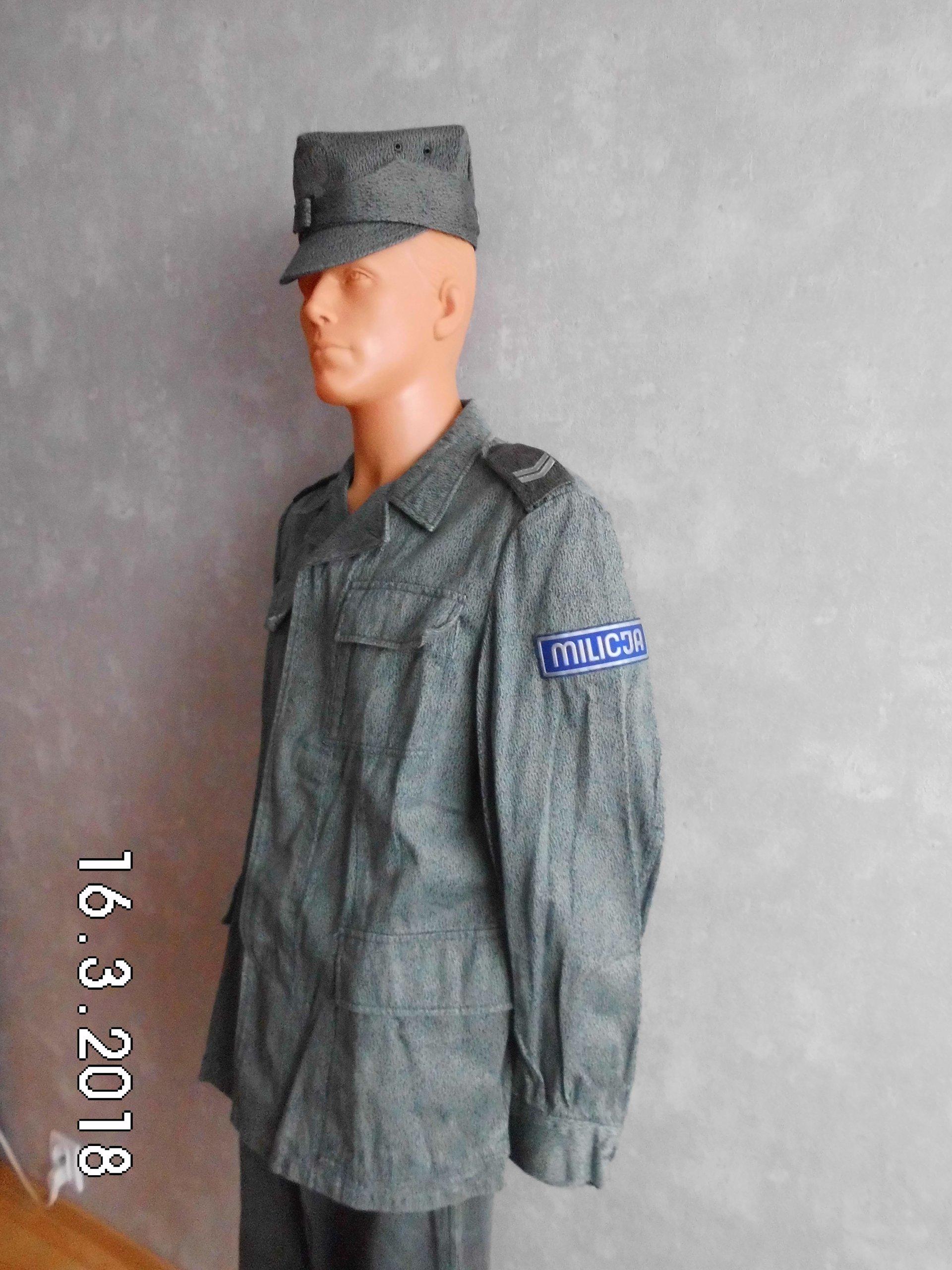 Zupełnie nowe Mundur polowy moro Milicja, MO, ZOMO ,PRL,LWP - 7301997611 ZO24