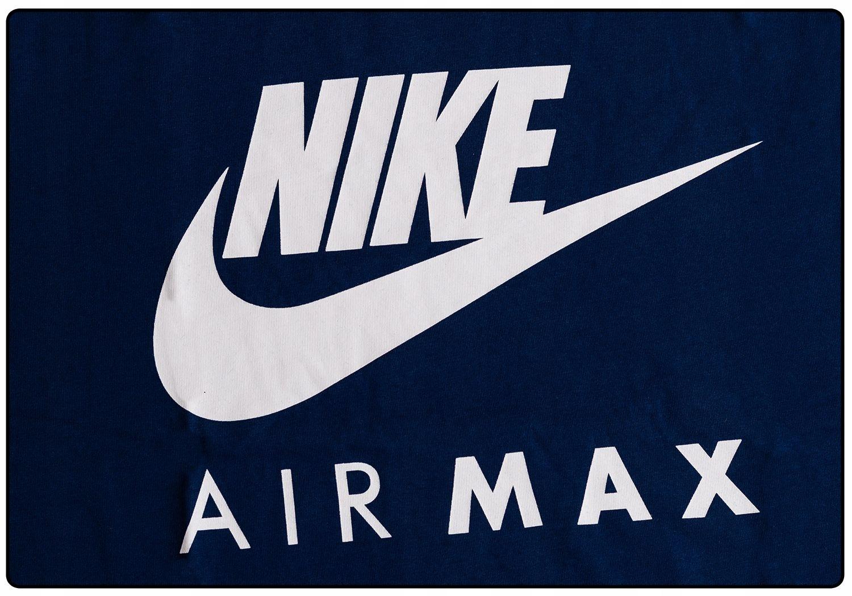 NIKE T SHIRT KOSZULKA AIR MAX BLUE Roz. M