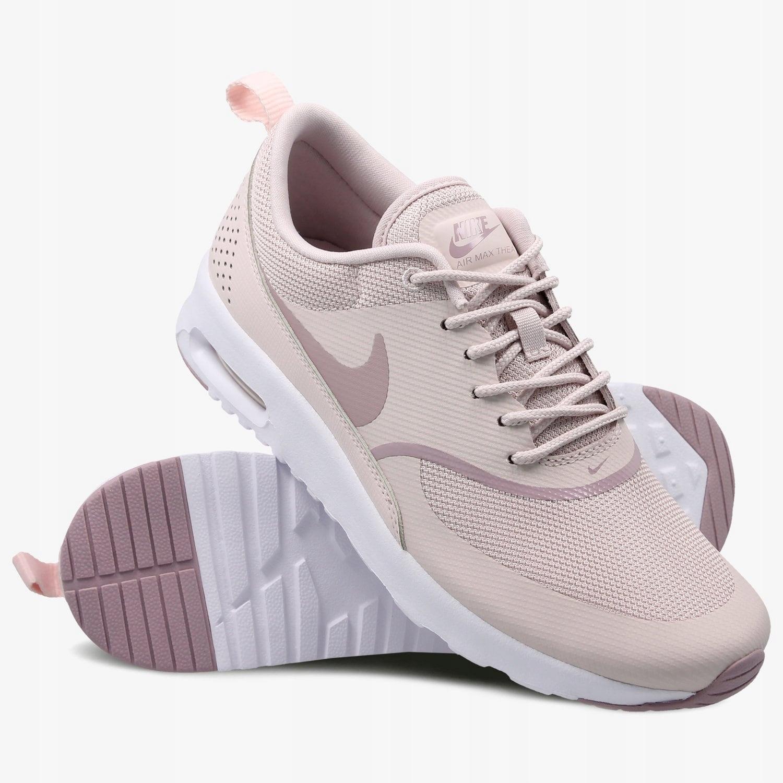Nike Damskie NIKE W NIKE AIR MAX THEA ROZOWY Materiał