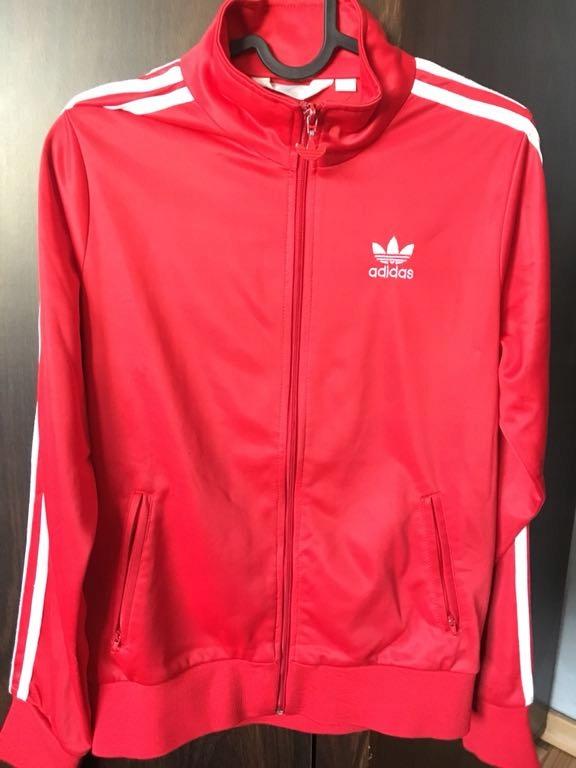 Najnowsza buty na tanie Kup online Czerwona bluza Adidas - 7405666544 - oficjalne archiwum allegro