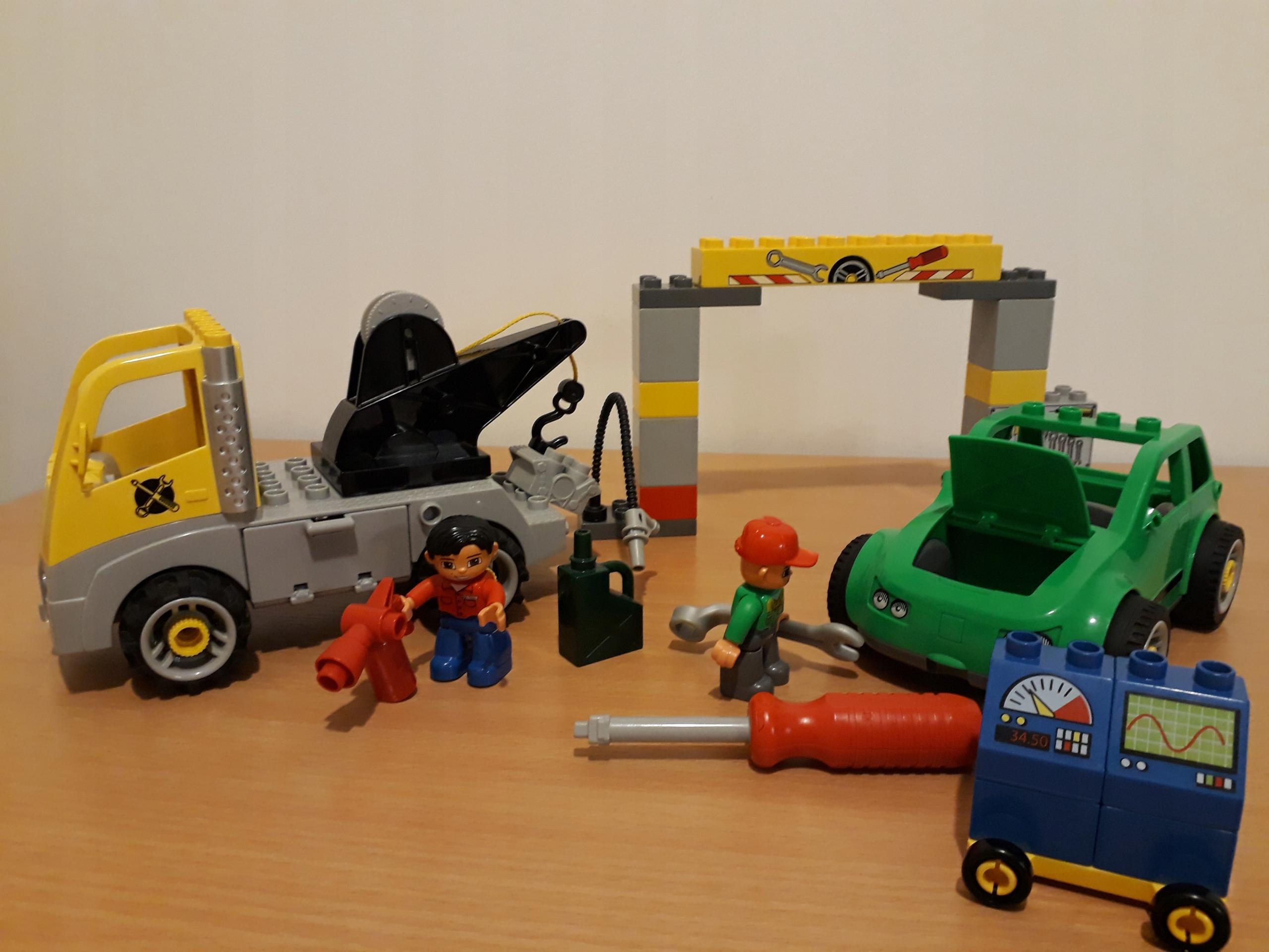 Lego Duplo 5641 Warsztat Samochodowy Holownik śrub 7685322639